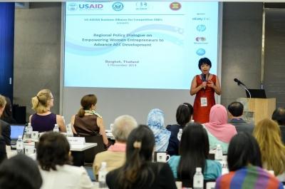 Regional Policy Dialogue on Empowering Women Entrepreneurs to Advance AEC Development