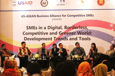 SMEs in a Digital, Borderless, Competitive and Greener World: Development Trend and Tools