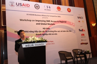 Wokshop on Improving SME Access to Regional and Global Markets