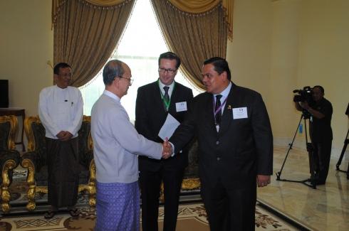 Myanmar Business Mission: U Thein Sein - Jul 8 - 10, 2013