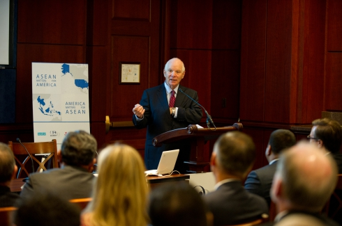 Senator Cardin Keynotes ASEAN Matters for America Kick-off - Apr 9, 2014