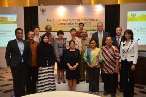 Second Executive Committee Meeting of the Indonesia ICT Consultative Forum – June 24, 2014