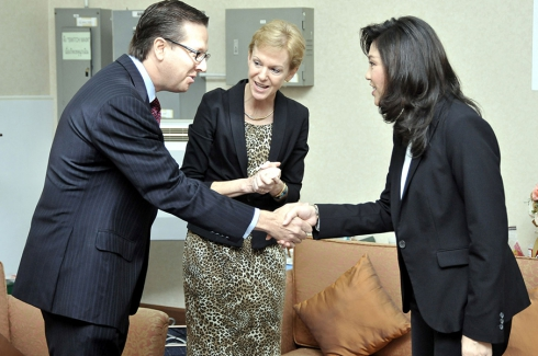 Meeting with H.E. Yingluck Shinawatra - Oct 26, 2012