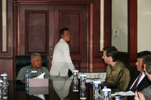 Meeting with H.E. Purnomo Yusgiantoro - Jan 27, 2010