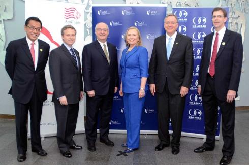 Hillary Rodham Clinton in Singapore - Nov 17, 2012