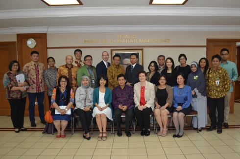 Meeting with Indonesia's Vice Minister of Health – July 11, 2014