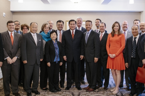 Roundtable with Deputy Prime Minister Thanasak of Thailand, September 26, NYC