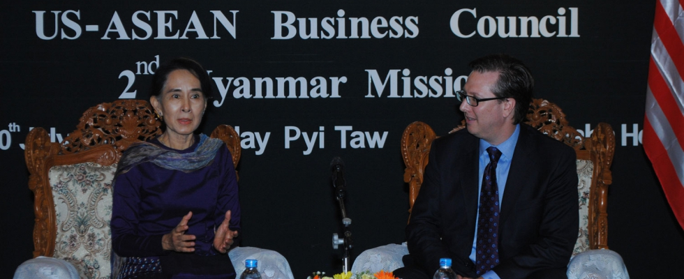 Myanmar Business Mission: Aung San Suu Kyi - Jul 8 - 10, 2013