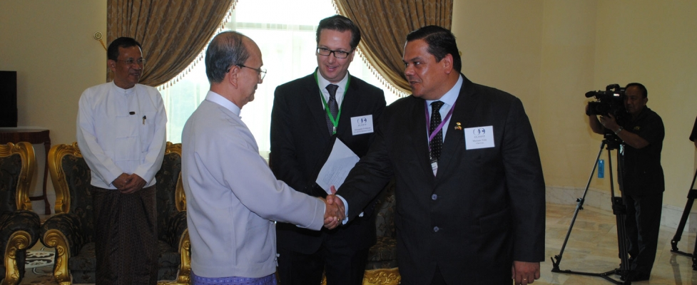 Myanmar Business Mission: U Thein Sein - Jul 8 - 10, 2013