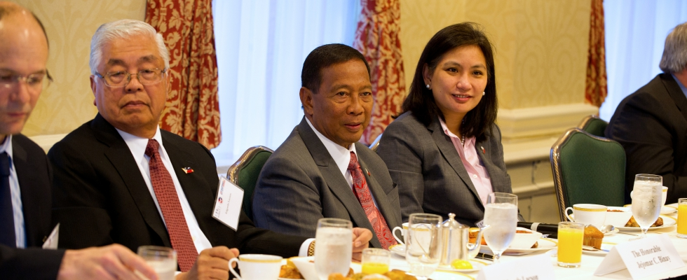 Breakfast with Vice President Jejomar Binay – May 2, 2014