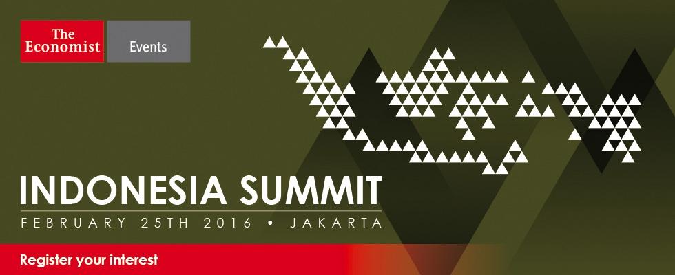 The Economist Indonesia Summit 2016